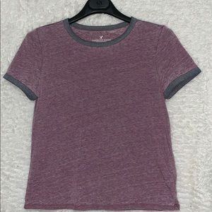 AMERICAN EAGLE soft and sexy cropped tee